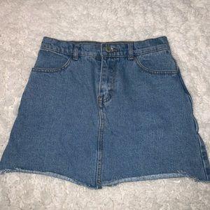 Brandy Melville denim mini skirt size S